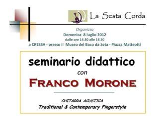 Seminario Franco Morone defin