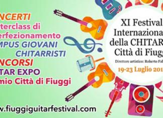 Fiuggi Guitar Festival banner